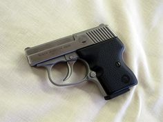 The best small handguns recommended for women. (this is the NAA 5-round 'guardian' pistol)