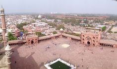 Jama Masjid, Red Fort aur Purani Dilli