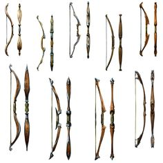 Bow Designs from Dragon Age: Origins