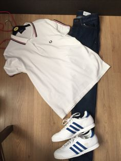 Sunday 23rd October Fred perry polo shirt Adidas dragon trainers H and M jeans