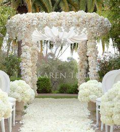 Wedding Arch Ideas | Outdoor Wedding Ceremony Decorations Archives | Weddings Romantique