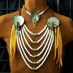 Native American Necklace and choker