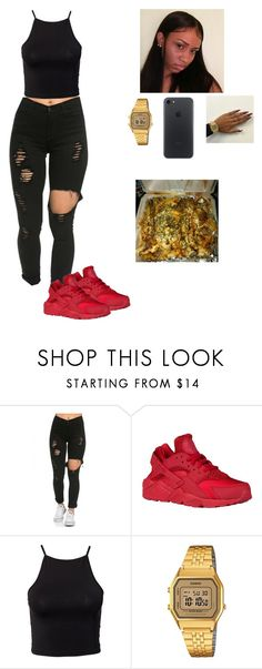 """""""Untitled #182"""" by baby-crooksanford ❤ liked on Polyvore featuring Estradeur and Casio"""