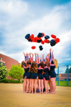 Celebration of a great season!Use balloons and have the team put a message or…