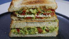 Guacamole Sandwich Finger Foods, Guacamole, Sandwiches, Corner, Baking, Finger Sandwiches, Bread Making, Patisserie, Finger Food