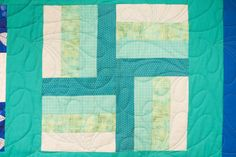 Rail Fence Block Pattern | Learn how to make a rail fence block with our newest Block of the Month video!