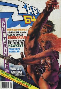 Zzap 64 - Barbarian (August 1988)