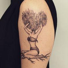 Inspiração: tatuagens desenhos de mulheres