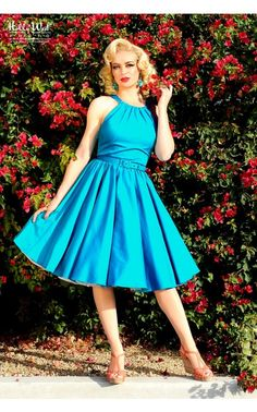Pin Up Girl Clothing Com Pinup Couture Plus Size Evelyn Dress In Yellow Floral  Pinup