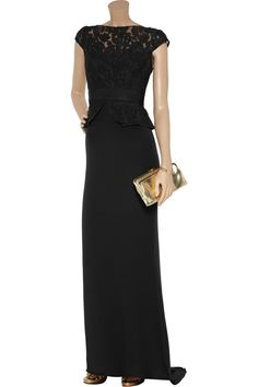 Notte by Marchesa...  Beautiful dress for a non-traditional bride or for the bridesmaids.