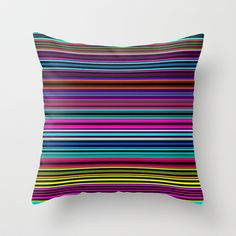 Re-Created Channels xx #Throw #Pillow by #Robert #S. #Lee - $20.00