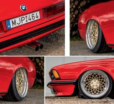 BMW 635i E24 wheels - BMW 635i E24