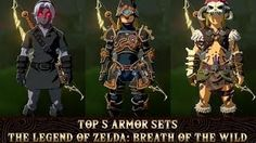 The Legend of Zelda: Breath of the Wild - Top 5 Armor Sets & How to Get Them! Ancient Armor, Zelda Breath, Breath Of The Wild, Legend Of Zelda, Breathe, How To Get, Cosplay, Image, Amp