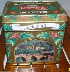 German Tin Music Box Lambertz Berlin Germany PLAYS We Wish You A Merry Christmas Penny Auctions, Berlin Germany, Plays, Tin, Merry Christmas, Music, Collection, Heidelberg, Games