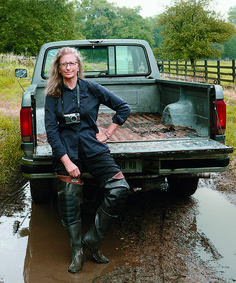 Talented lady you are, Annie Leibovitz. #set