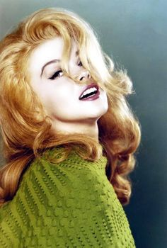Ann-Margret  celebrity beauty | beautiful celebrities | iconic beauty | beauty icon | red hair | redhead | sex symbol | fifties | sixties | vintage | retro