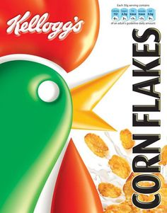 Kellogg Corn Flake packets since the 1950s | Art and design | The Guardian