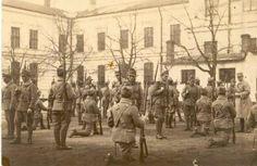 BU-F-01073-1-00063 Soldaţi, primul război mondial, 1916-1918 (niv.Document) Wwi, First World, Troops, Romania, World War, Painting, Painting Art, Paintings, Paint