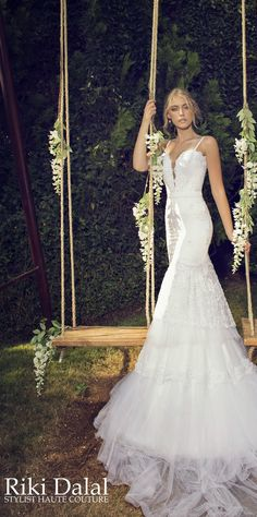 Wedding Dresses by Riki Dalal - Provence Collection - Belle The Magazine