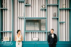 Sneaking glances from across the room like star crossed lovers do  We've been living for this trendy stylized shoot we did with these two beauties back in the summertime. May we just commend their choice in hotel location? Hotel Indigo DTLA is everything, I mean look at that turquoise wall! Trash the wedding dress/day after multi location session at Hotel Indigo DTLA, Walt Disney Concert Hall, and LACMA in Los Angeles, CA. • • • •  www.LoveCloud9.com #LoveCloud9 #Cloud9Brea…