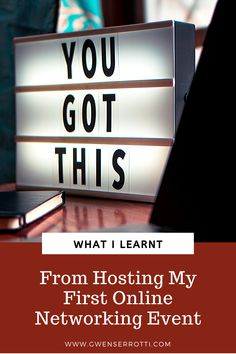 What I Learnt From Hosting My First Online Networking Event Marketing Guru, Just Don, Confessions, Things I Want, About Me Blog, Success, Posts, Learning, Messages