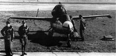 Werner Zober Karl Emil Demuth Leck May 1945 Heinkel He 162 JG 1 Jagdgeschwader