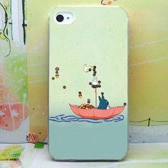 Love crazy iphone5 phone shell custom skin paste diy photo animation Hayao Miyazaki cute Totoro totoro briquettes - Taobao