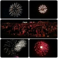 """""""Fantastic fireworks show in Martinsville tonight. have a great rest-of-the-weekend everyone!""""   Posted to Instagram by @toshatd.    Photo taken at Jimmy Nash Park in Martinsville, Indiana."""