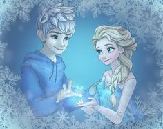 Jack Frost and Elsa by high-snow.deviantart.com on @DeviantArt