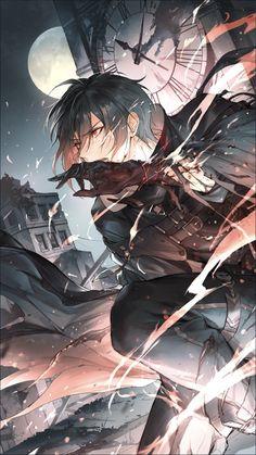 Dark Anime Guys, Cool Anime Guys, Hot Anime Boy, Anime Boys, Oc Manga, Manga Art, Manga Anime, Anime Warrior, Anime Demon