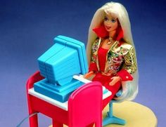 Barbie is a writer