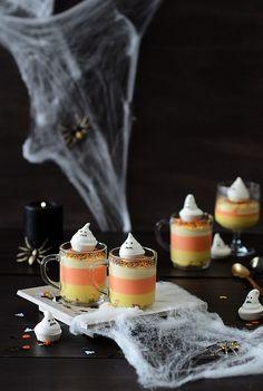 ¡Qué cosa tan dulce!: Tarta de queso y leche condensada {sin horno} para Halloween