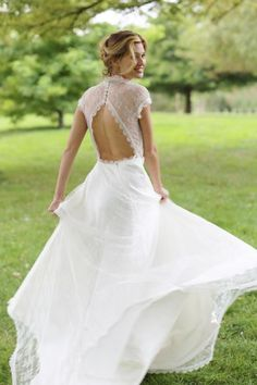 Os mais lindos vestidos de noiva vintage para 2015 Image: 4