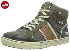 1209-301, Sneakers Basses Femme, Gris (800 Dunkelblau), 36 EUMustang