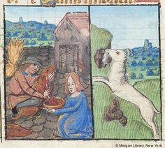 December and Capricorn - Book of Hours - The Morgan Library & Museum