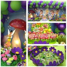 tinkerbell fairies birthday party ideas