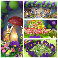Tinkerbell Party #tinkerbell #party