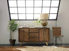 Hooker Furniture Transcend Light Cinnamon 58''L x 18''W Rectangular Buffet