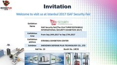 We hereby sincerely invite you and your company representatives to visit our booth in the Istanbul exhibition center from to Walk Through Metal Detector, Scanning Machine, Invite, Invitations, Vehicle Inspection, Security Equipment, Surveillance System, Istanbul, Technology