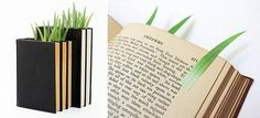 Bookmarks that look like blades of grass Great Books To Read, My Books, Creative Bookmarks, Clever Gadgets, Page Marker, Book Markers, Brighten Your Day, Diy Design, Smart Design