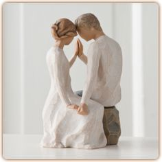 Beautiful and slightly intimate adoration. This sight has great cake toppers like this