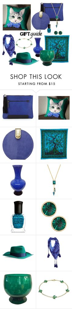 """#BFF giftguide"" by wendycecille ❤ liked on Polyvore featuring French Connection, Stephanie Johnson, Elizabeth Cole, Deborah Lippmann, Kate Spade, Big Aristote, Laurel Burch and Finn"