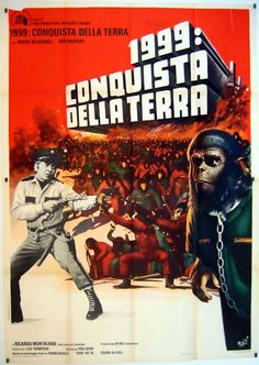 Archives Of The Apes: Conquest Of The Planet Of The Apes (1971) International Movie Posters