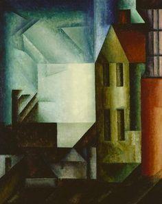 Lyonel Feininger, Gross-Kromsdorf. 1915