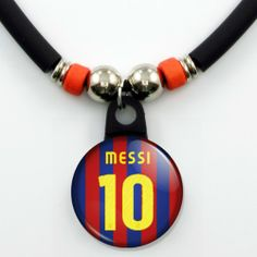 http://cheune.com/store Lionel Messi FC Barcelona Jersey Necklace