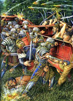 Soldati Romani del Tardo Impero