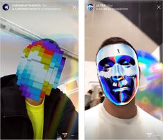 8 Artists Creating Fun AR Effects for Instagram Stories - Later Blog Cool Instagram, Instagram Feed, Instagram Story, Instagram Users, Augmented Reality, Virtual Reality, Web Mobile, Business Checks, Spanish Artists