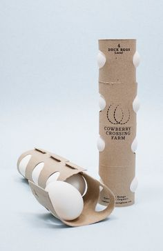 Cowberry Crossing Farm Egg Packaging on Behance