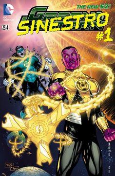 Green Lantern - Sinestro #23.4 #GreenLantern #New52 #DC (Cover Artist: Billy Tan) On Sale: 9/25/2013