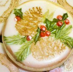 Cone pines Christmas Cookies